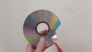 Rozřezal staré CD, když skončil? Geniální!