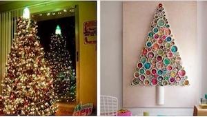 20 vánočních stromečků z věcí, které byste obvykle vyhodili do koše!