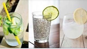 6 receptů na nápoj s dávkou energie...které zlepšují metabolismus. Neměl jsem tu