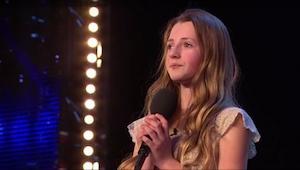 Rozhodla se zazpívat velmi náročnou píseň...  jen 12letá dívka překvapila!