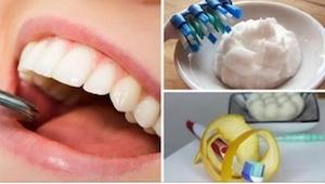 6 domácích receptů proti plaku na zubech. Zbavte se ho levně, rychle a bezbolest