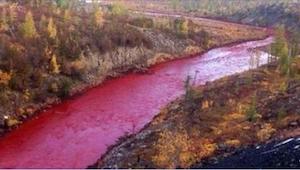 Vystrašení obyvatelé nemohli uvěřit tomu, co se stalo s touto řekou. Vypadá jako
