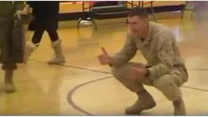 Po návratu domů měl tento voják jen jedno přání – vidět svou rodinu. To, co se s