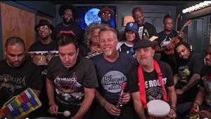 Nevěděla jsem, že členové kapely Metallica mají TAKOVÝ smysl pro humor! To, co p