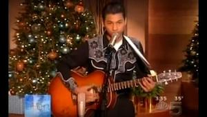 Bylo mu teprve 15 let, když se objevil v proslulém televizním pořadu. Jeho hlas