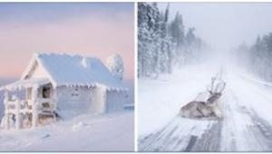 Nedivíme se, že Santa Claus žije na Severním pólu. Podívejte se na 9 fotek. Úžas