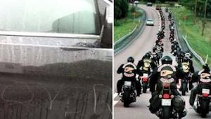 20 motorkářů čekalo na chlapce u školy. Důvod – úžasný!