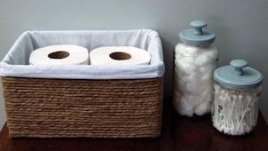 Jak proměnit starou krabici na něco, co by chtěl mít ve své koupelně každý?