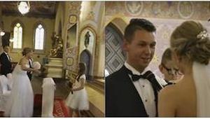 Svatbu polského páru už na internetu vidělo 6 milionů lidí. Důvod takového úspěc