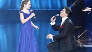 Hlas teprve 12leté dívky dostal na kolena hvězdu italské opery!