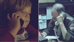 Chlapec volá na policii a hledá svou mámu, která je v nebi. To, co udělal polici