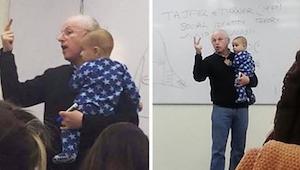 Žena vzala na přednášku dítě, reakce profesora na jeho pláč šokovala studenty!