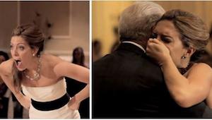 Bratr nevěsty udělal něco opravdu dojemného ve jménu zesnulého otce!