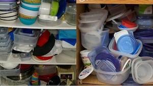 Snad v každé kuchyni vládne chaos kvůli obrovskému množství plastových dóz. Nade