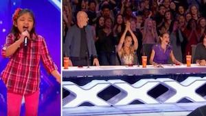 9letá sebevědomá holčička přišla na pódium a řekla, že chce být příští Whitney H
