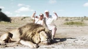 Zabili lva a pak vedle jeho těla pózovali pro fotografii. To, co se objevilo za