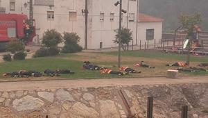 13 hasičů spí během požáru. Když jsem se dozvěděla proč, údivem mi spadla čelist