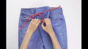 Nevěděla jsem, že ideální velikost džínů lze vybrat tak snadno… a bez zkoušení.