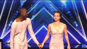 Tento taneční pár si svým jedinečným vystoupením získal postup do finále!