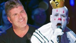 Pěvecký výkon klauna dohnal diváky k slzám a porotu k ovaci ve stoje!