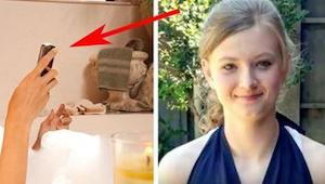 Náctiletá zemřela ve vaně poté, co udělala něco, co dělá snad každý. Pokud to va