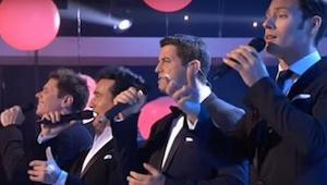 To, jak čtveřice mužů zazpívala známý hit Whitney Houstonové vás okouzlí! Úžasné