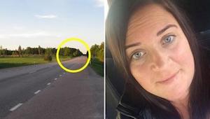 Žena jela po dálnici když ji zastavila další auta. Pochopila, co se děje a synov