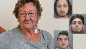 77letá žena vybírala peníze z bankomatu, když k ní přišla trojice mužů. Ihned po