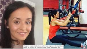 Tuto fotografii pořídili 30leté ženě krátce předtím, co jí diagnostikovali čtvrt