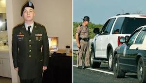 Mladého veterána zastavila policie. Když zjistil, proč ho zastavili, nemohl zadr