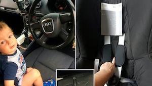 Chlapeček při každé jízdě v autosedačce hystericky plakal. Když rodiče odhalili