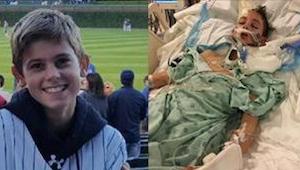 Chlapec upadl do kómatu poté, co ho zmlátili ve škole. Když konečně otevřel oči,