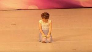 Porotu okouzlil tanec této teprve 4leté holčičky