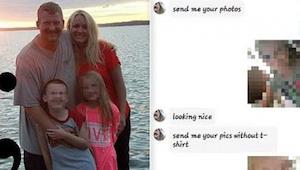 Když otec uviděl zprávy v telefonu své 7leté dcery, okamžitě kontaktoval policii