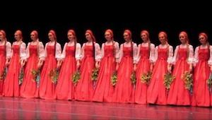 Tanečnice z Ruska přišly na scénu. Když začaly tančit, nikdo nemohl uvěřit tomu,