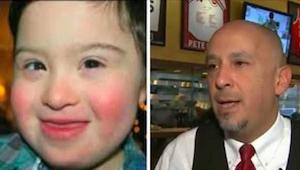 Muž nechtěl jíst v restauraci, ve které bylo dítě s Downovým syndromem. Reakce č
