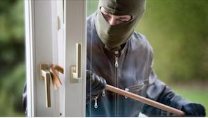 Zloděj se vloupal do domu za nepřítomnosti majitelů. Když náhle něco uslyšel za