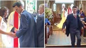 Ženich zapomněl na obroučky… byla to však jen záminka, aby mohl utéct z kostela.
