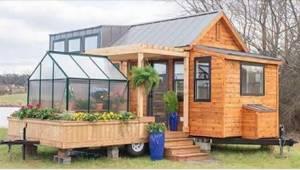 Můžete žít pohodlně v domečku, který má 30 m čtverečních? Budete překvapeni!