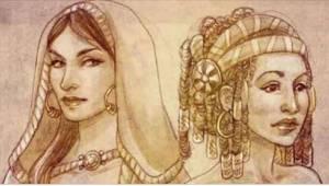 Umírající král se každé ze svých čtyř žen zeptal, jestli mu bude dělat společnos