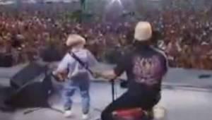 4letý chlapeček přišel na pódium s akordeonem a zastínil i ty největší hvězdy!