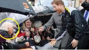 97letá žena hledala prince Harryho. Když ji spatřil, byl v šoku!