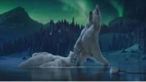 Vánoční reklama s medvědy tančícími na ledu je stala hitem roku 2017! Souhlasíte