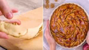 Tenhle jablečný koláč je jiný, než všechny ostatní – sledujte, jak ho můžete při