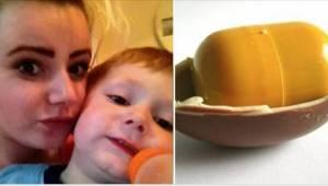 Koupila dítěti Kinder vajíčko… To, co v něm našla, jí šokovalo!