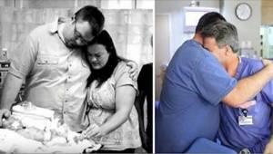 Dítě zemřelo hned po narození. Malý zázrak 10 měsíců později dojal doktora k slz