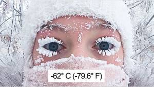 V nejchladnější vesničce na světě ukazuje teploměr -62 stupňů Celsia. Dech neber