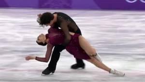 To, co na olympijských hrách předvedli Tessa Virtuová a Scott Moir, se zapíše do