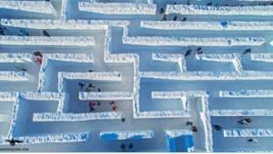 Nejdelší sněžný labyrint na světě se nachází v Polsku! Víte, kde přesně?