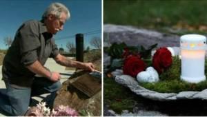 13 let nechával svíčky na místě, na kterém zemřel jeho syn. Jednoho dne tam naše